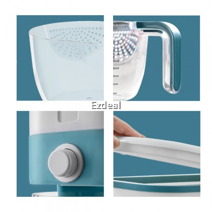 EZDEAL 12KG Automatic Rice Dispenser with Rinsing Cup Japan Rice Storage