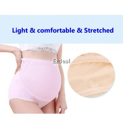 High Waist Pregnant Maternity Underwear Adjustable Soft Cotton Panties