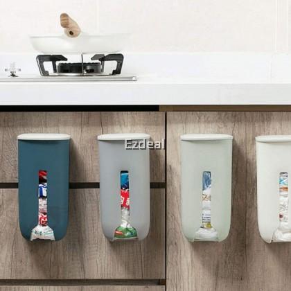 Plastic Bag Holder Dispenser Wall Mounted Organizer